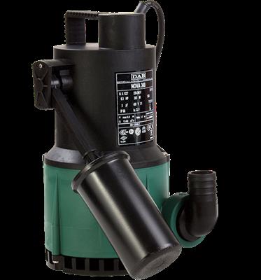 Bomba sumergible portatil de desagote pluvial NOVA 300